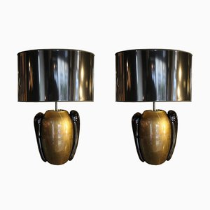 Table Lamps by Pino Signoretto, 1970s, Set of 2