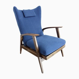 Reclining Wingback Chair from Knoll Antimott, 1965