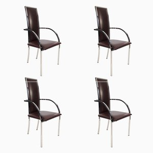 Chaises Vintage de Belgo Chrom/ Dewulf Selection, Belgique, Set de 4