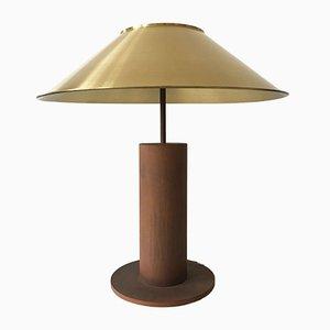 Lámpara de mesa grande de Peter Preller para Tecta, años 80