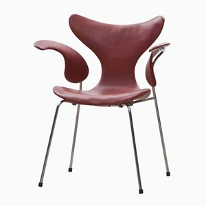 Vintage Seagull Chair by Arne Jacobsen for Fritz Hansen