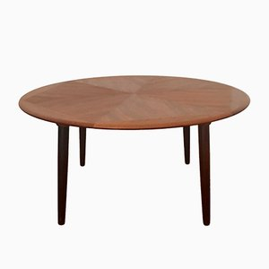 Teak Coffee Table by Henry Walter Klein for Bramin, 1960s