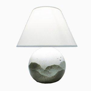 Lámpara de cerámica de Yves Mohy para Virebent, años 70