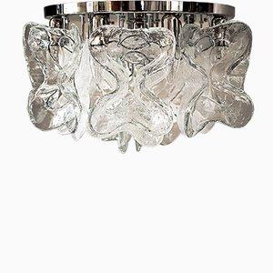 Große Catena Murano Glas Deckenlampe von J.T. Kalmar, 1960er