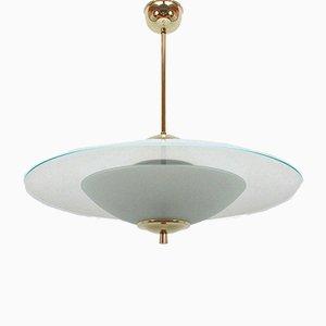 Lampe à Suspension UFO Mid-Century, Italie, 1950s