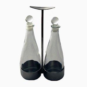Essig- und Ölkaraffen von Marianne Denzel für Berndorf, 1960er