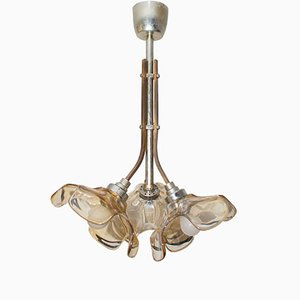 Vintage French Brass Ceiling Light