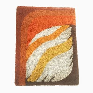 Vintage Modernist Rya Rug from Desso, 1970s