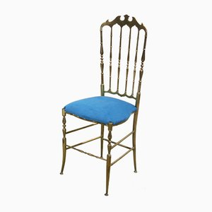 Vintage Italian Chiavari Chair with High Back, 1950s