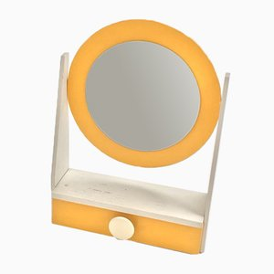 Plywood Framed Makeup Mirror, 1960s