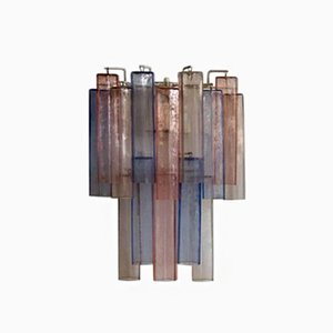 Murano Glass Wall Sconce by Aureliano Toso, 1950s