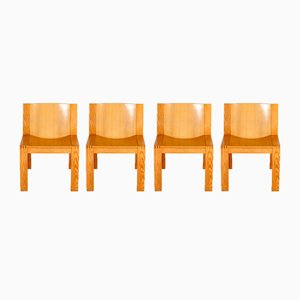 SE15 Chairs by Boonzaijer & Mazairac for Pastoe, 1976, Set of 4