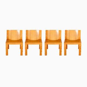 SE15 Chairs par Boonzaijer & Mazairac pour Pastoe, 1976, Set de 4