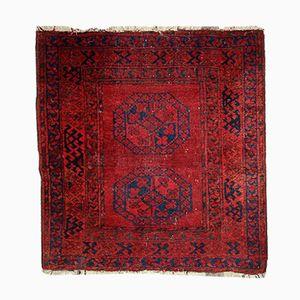Alfombra Ersari afgana antigua hecha a mano, década de 1900
