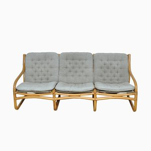 Vintage Rattan Sofa, 1970s