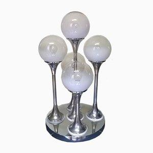 Lámpara de mesa Bubbles de Goffredo Reggiani, años 60. Juego de 2