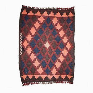 Tappeto Kilim vintage fatto a mano, Afghanistan, anni '60