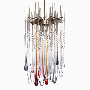 Murano Glass Ceiling Light, 1960s