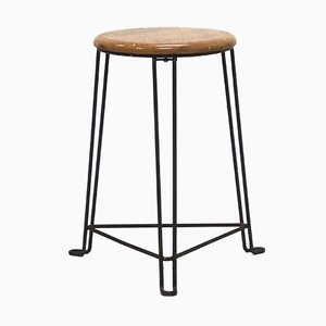 Industrial Stool by Jan van der Togt for Tomado Holland, 1930s