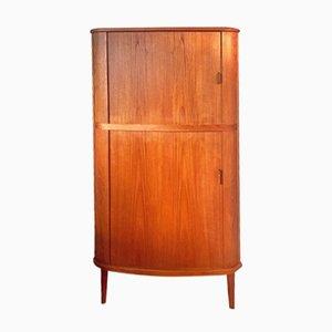 Danish Corner Cabinet by Arne Hovmand Olsen for Skovmand & Andersen, 1960s