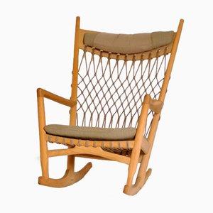 Rocking Chair 124 par Hans J. Wegner pour PP Møbler, 1984