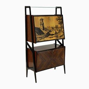 Meuble Bar avec Miroir Vintage