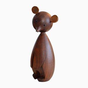 Figurina di un orso danzante di Karl Hagenauer, anni '50