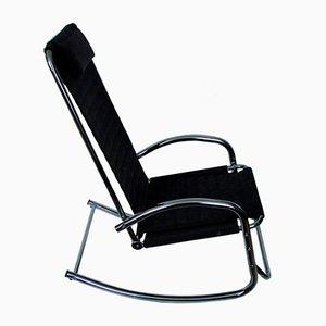 Sessel aus Chrom, 1980er