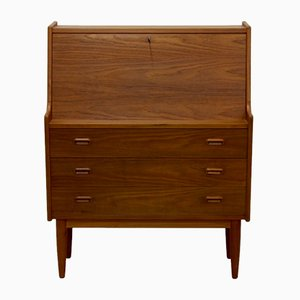 Danish Teak Veneer Bureau from Falster, 1970s