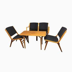 AX Living Room Set by Peter Hvidt & Orla Mølgaard-Nielsen for Fritz Hansen, 1950s