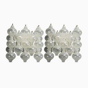 Lámparas de pared Tulipan vintage de J. T. Kalmar para Kalmar. Juego de 2