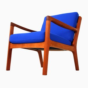 Senator Lounge Chair by Ole Wanscher for France & Søn, 1951