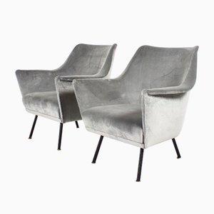Club chair Mid-Century, Italia, anni '60, set di 2