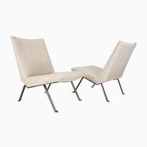 Industrial Dutch Lounge Chairs by Koene Oberman for De Ster Gelderland, 1950s, Set of 2