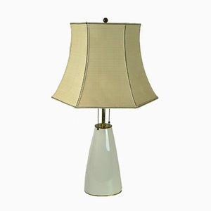 Lámpara de mesa 194 de porcelana de KPM, años 50