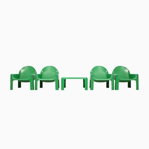 Vintage Seating Group by Gae Aulenti for Kartell