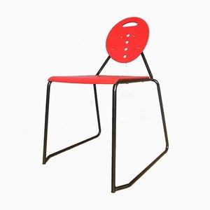 Italienischer Vintage Charlie Stuhl von Carlo Bimbi & Nilo Gioacchini für Segis