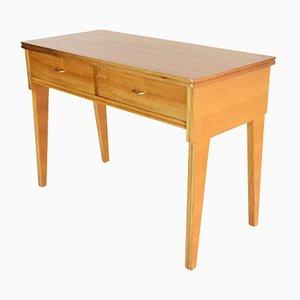 Italienischer Mid-Century Kirschholz Schreibtisch