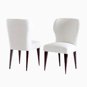 Italienische Vintage Esszimmerstühle von Gio Ponti für Casa E Giardino, 5er Set