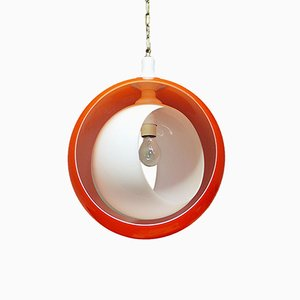 Murano Glass Pendant Lamp by Carlo Nason for Mazzega, 1960s