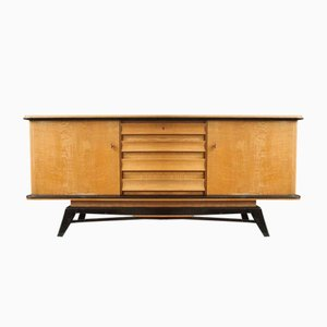 Vintage Dutch Teak Sideboard