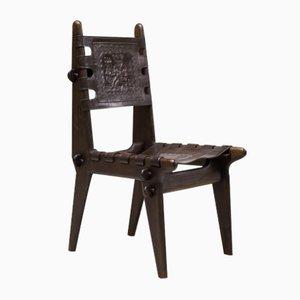 Sillas de comedor ecuatorianas vintage de Angel Pazmino para Muebles de Estilo. Juego de 4