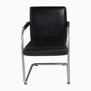 Chaise Vintage en Cuir par Antonio Citterio pour Vitra