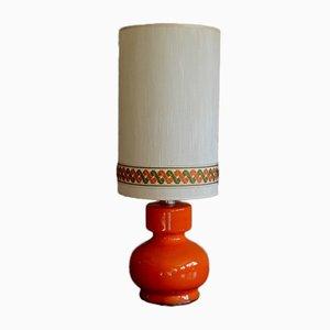 Vintage Orange Lamp