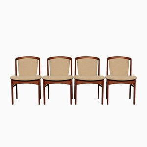 Teak Dining Chairs by Erik Buch for Christensens Mobelfabrik, Set of 2