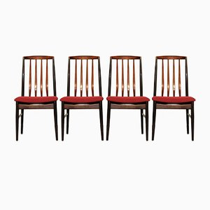 Danish Modern Rosewood Dining Chairs from Vamo Sønderborg, Set of 4