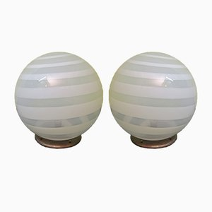 Murano Table Lamps, 1970s, Set of 2