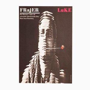 Cool Hand Luke Movie Poster by Milan Grygar, 1967