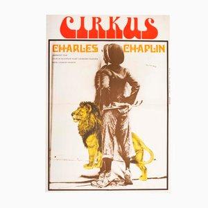 Der Zirkus Filmposter von Milan Grygar, 1976