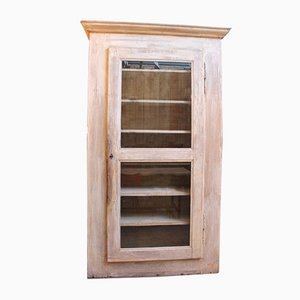 Vintage Wooden Display Cabinet